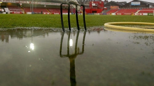 Wind and rain is causing havoc with this weekend's sporting fixtures