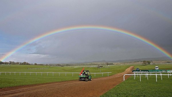 Racegoers will be hoping the rain eases off at Punchestown