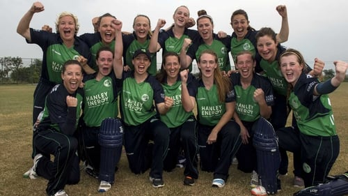 Ireland celebrate a thrilling end to their triumphant T20 World Cup qualifier series