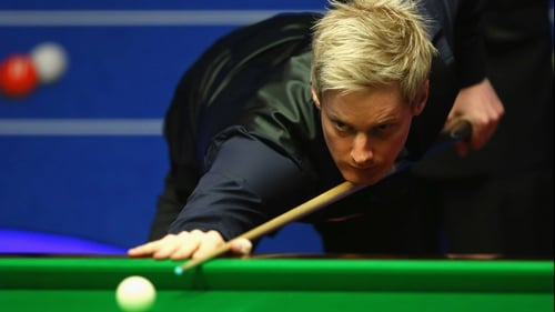 Neil Robertson wasn't to be stopped tonight