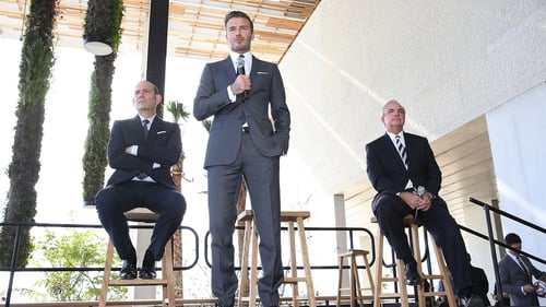 David Beckham announces his plans for an MLS team in Miami in 2014