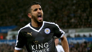 Mahrez has been linked with a summer move to Arsenal