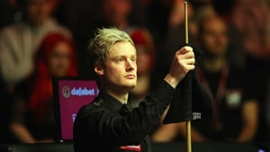 Neil Robertson struck a 147 in the afternoon session