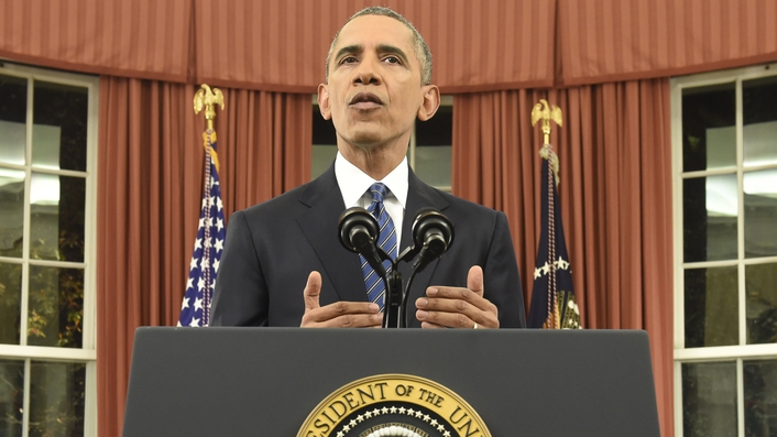 Freedom more powerful than fear: Obama addresses nation