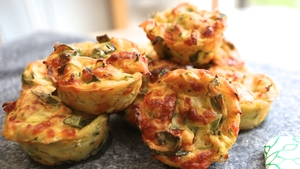 Vegetable Muffins - easy, nutritious and tasty.