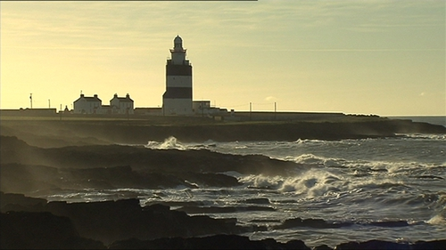 The incident happened at Hook Head last Sunday