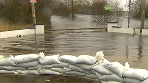 Storm Desmond dumped more than 100mm of rain along the south, west and northwest of the country