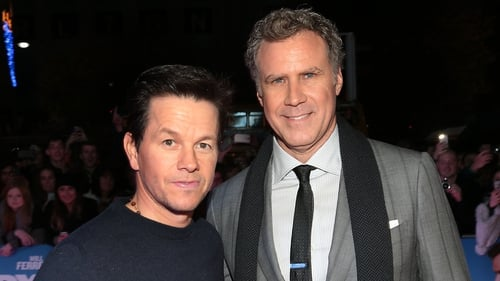 Mark Wahlberg and Will Ferrell on the red carpet in Dublin. Photo: Brian McEvoy