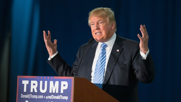 Donald Trump said Muslims should be prevented from entering theUS