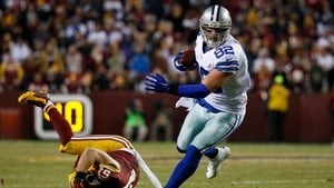 Dallas' Jason Witten became the 12th player to reach 1,000 NFL catches