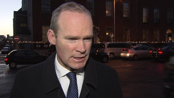 Simon Coveney said the RTÉ revelations were disgraceful and that he hoped gardaí would investigate the matter