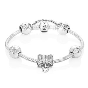 Pandora's Christmas Bow Bracelet Bundle RRP €285 NOW €219