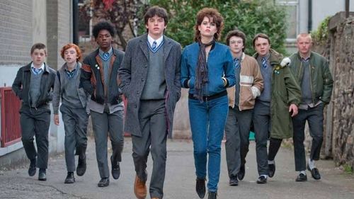 A scene from John Carney's 2016 movie Sing Street, now heading to Broadway