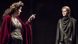 Derbhle Crotty as Henry IV and Aisling O'Sullivan as Henry V