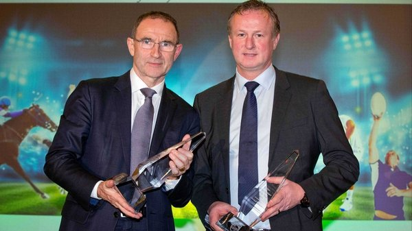 Martin O'Neill and Michael O'Neill enjoyed memorable years with their teams