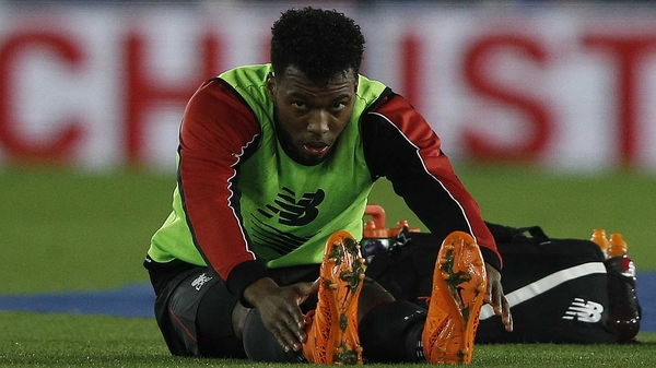 Daniel Sturridge suffered a slight setback in his recovery