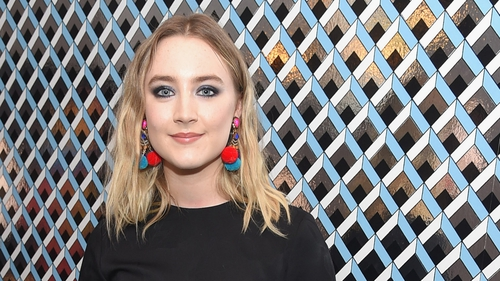 Saoirse Ronan was shortlisted for 'British' Actress of the Year