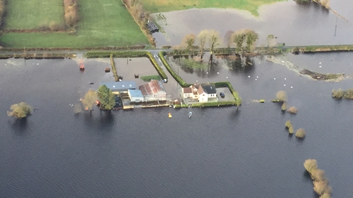 Alan Kelly says the Government is aiming to do as much as possible to help with flood relief