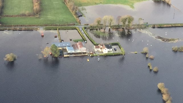 The winter storms brought substantial flooding to areas of the country