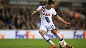 Erik Lamela has been out of action for Tottenham since November