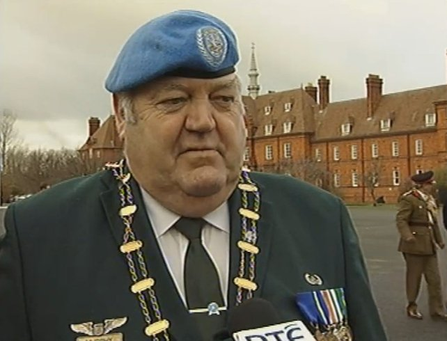 Liam Murphy - Chairman of the UN Vets Association (2005)