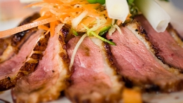 Duck Breast with Saute Garlic Potatoes | Kevin Dundon
