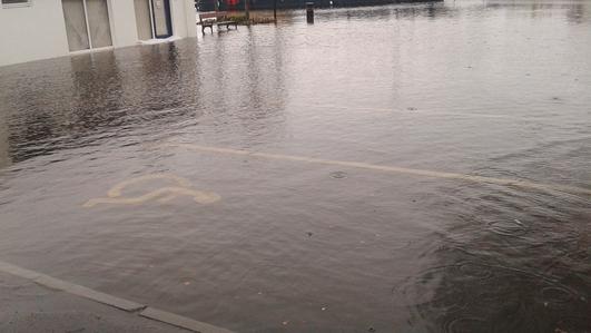 Homes Still Flooding