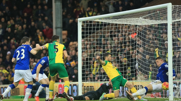 Wes Hoolahan prods home Norwich's leveller