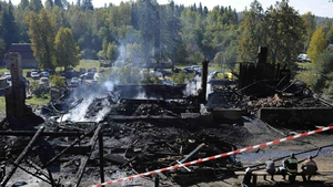 A fire at a psychiatric hospital in northwest Russia in September 2013 left 37 people dead