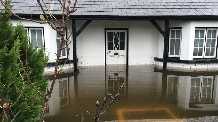 Limerick residents clean up after flooding