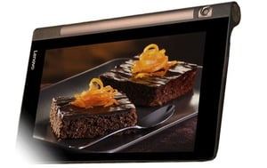 """The display, battery and speakers are among the strongest features of the Yoga Tab 3 8"""""""