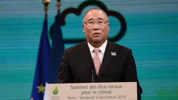 China's climate envoy Xie Zhenhua
