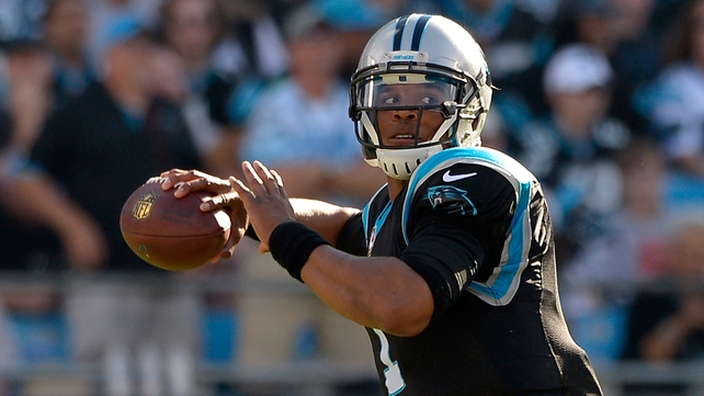 Cam Newton and the Panthers are making it look easy