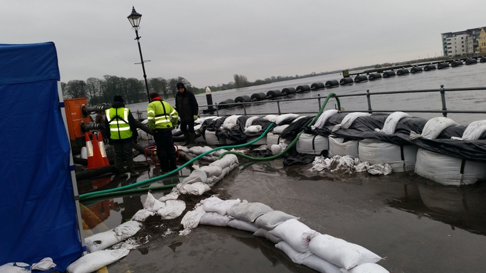Athlone open for business despite floods