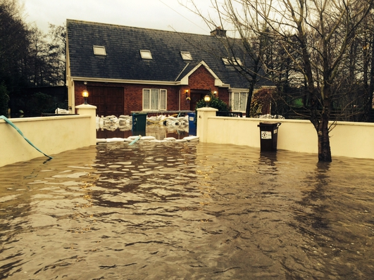 Homeowners In Fear Amid Rising Flood Waters Along The Shannon