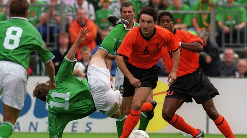 Ireland famously beat Holland in 2001 at Lansdowne Road