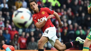Javier Hernandez: 'I spoke with Van Gaal and he said that I only had a one per cent chance of playing in my position, so I headed to Bayer.'
