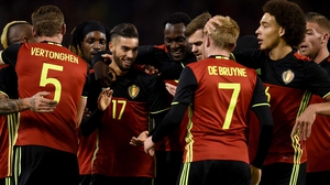 Italy manager Antonio Conte is wary of a 'very strong' Belgium side