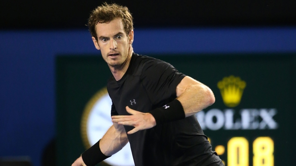Andy Murray is seeking his first win in Melbiurne