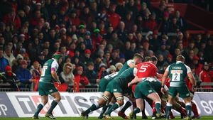 Some of the faithful were less than impressed by Munster's efforts against Leicester