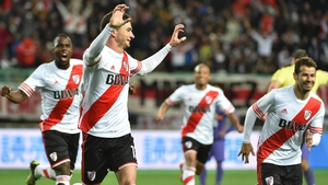 Lucas Alario celebrates his winning goal