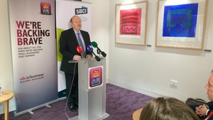 Michael Noonan said it is 'more likely' a 25% stake in AIB will be sold in the first half of next year