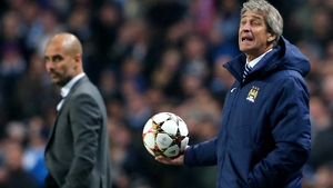 Manuel Pellegrini had to deal with speculation linking Pep Guardiola with Manchester City for much of his time in charge
