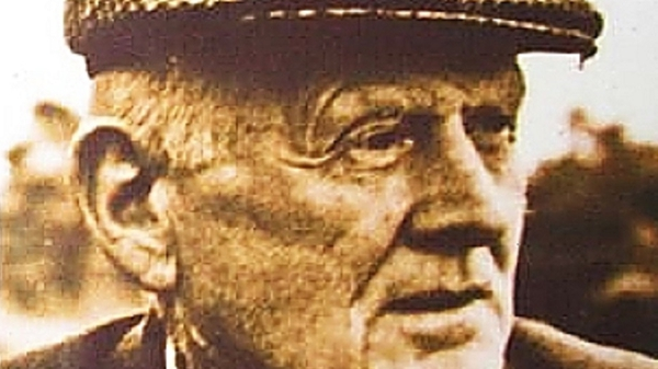 The County Donegal writer Seosamh Mac Grianna who settled in Dublin in later life