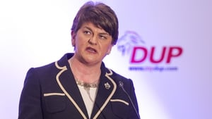 Arlene Foster said the event is not a commemoration of the events in Dublin in 1916