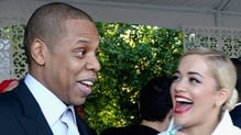 Jay Z and Rita Ora