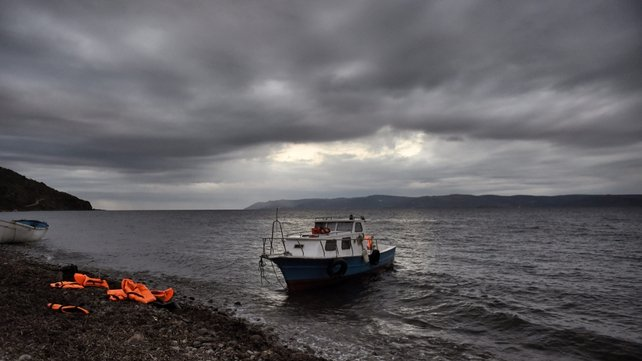 Dozens of migrants are still missing after two boats sank off Greek islands