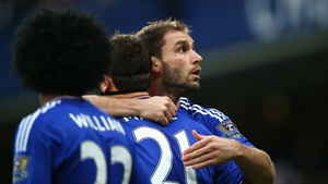 Ivanovic won two Premier League titles and the Champions League with Chelsea