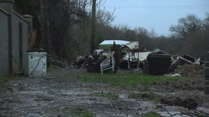 It is understood the man had been staying in the caravan while his house was being renovated