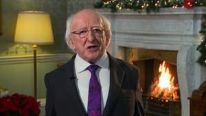 President Michael D Higgins said Christmas is a time to pause and reflect